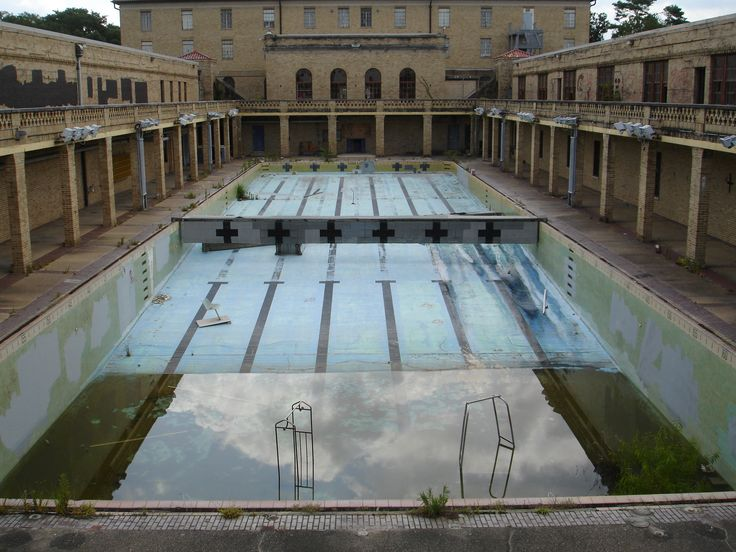 170 best abandoned pools images on pinterest abandoned for Disused swimming pools