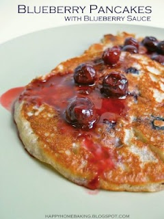 Blueberry sauce, Blueberry pancakes and Blueberries on Pinterest