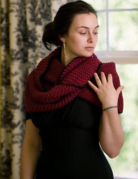 Mobius Scarf/Shrug Pattern - Free Knitting Patterns by Knit Picks Design Team