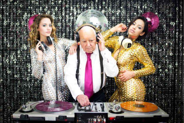 DJ Calcium Deficiency always spins my favorite NYE playlist with his fancy dancers.