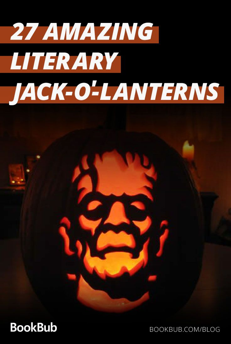 26 Jack O Lanterns Inspired By Your Favorite Books Fun Halloween Decor Scary Halloween Decorations Outdoor Pumpkin Carving