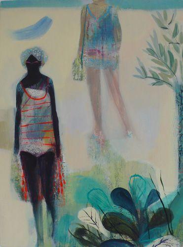 becky blair * artist - paintings: salt skin