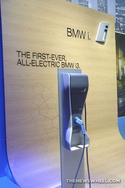 Discover how BMW's new charging station could help the United States build an infrastructure to support electric cars using simple streetlights.