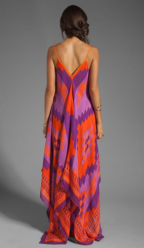 7a4ed5b953e7 Shop for Theodora   Callum Andes Scarf Dress in Violet Multi at REVOLVE.  Free 2-3 day shipping and returns