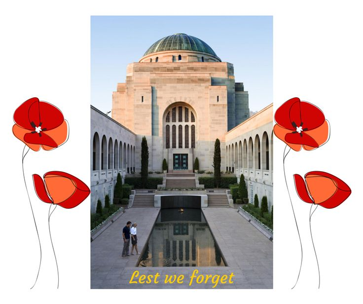 The Australian War Memorial. ANZAC day 25 April 2015 remembering a 100 years since the first landing at Gallipoli.