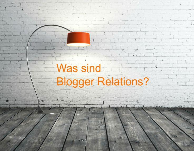 Blogger Relations ist ein Begriff aus dem Bereich der Öffentlichkeitsarbeit/PR und bezeichnet strukturierte und geplante Kommunikationsmaßnahmen zwischen Unternehmen bzw. Organisationen und Bloggern. Blogger Relations zielen darauf, passende Blogs für die Produkte und Dienstleistungen eines Unternehmens zu finden und so eine differenzierte und persönliche Berichterstattung zu generieren.