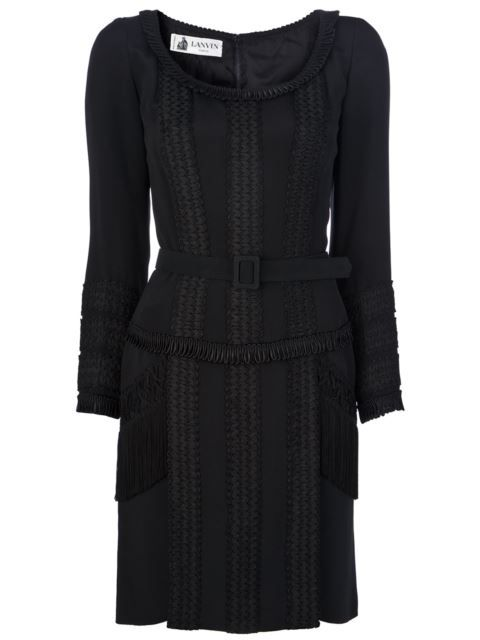 Lanvin Vintage fringed dress