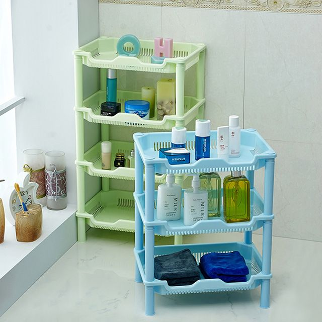T Square Bathroom Shelf Plastic Storage Rack Bathroom Toilet Kitchen Shelving Storage Rack Shelves Storage Shelves Kitchen Storage Rack
