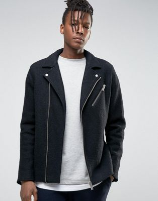 Buy Black Selected homme Leather jacket for men at best price. Compare  Jackets prices from online stores like Asos - Wossel Global