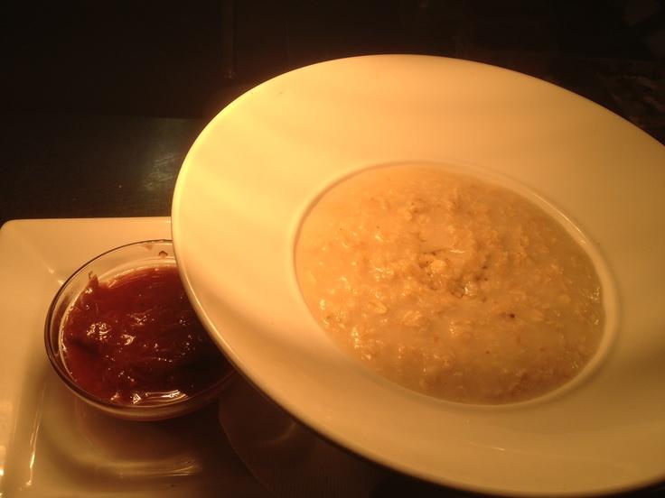 Porridge n Honey with Rubarb