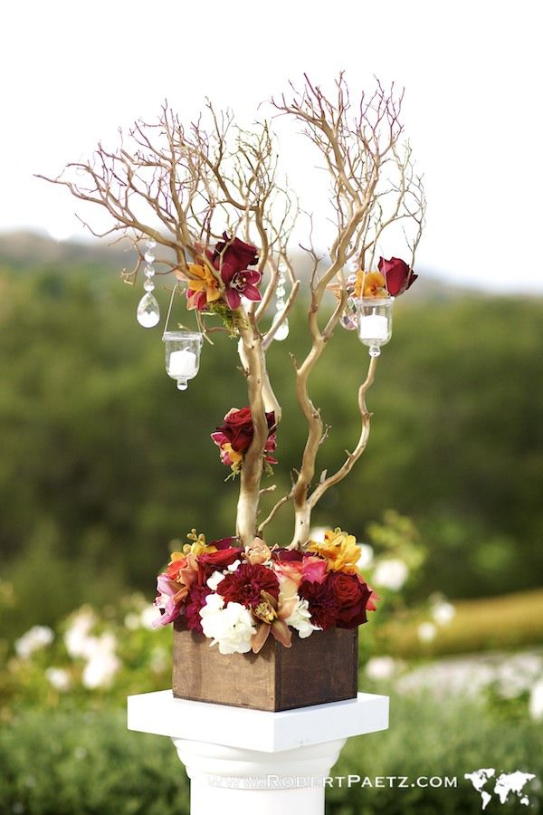 trees wedding decor 1000 images about diy manzanita centerpieces on 8066
