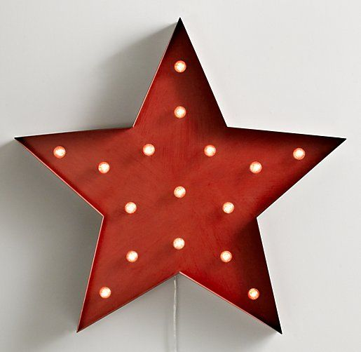 restoration hardware baby lighting. rh baby u0026 childu0027s vintage illuminated oversized star distressed redstar light bright our cleverly constructed metal shines day and restoration hardware lighting a