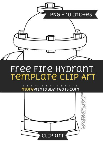 free fire hydrant template clipart free clipart files