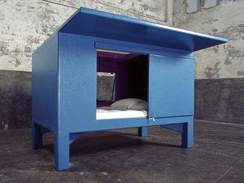 mini capsule cabin, atelier van lieshout