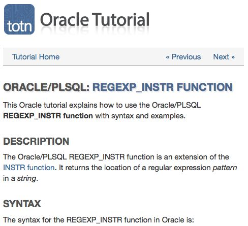 In Oracle, use regular expression pattern matching to find a substring in a string. Try the REGEXP_INSTR function.
