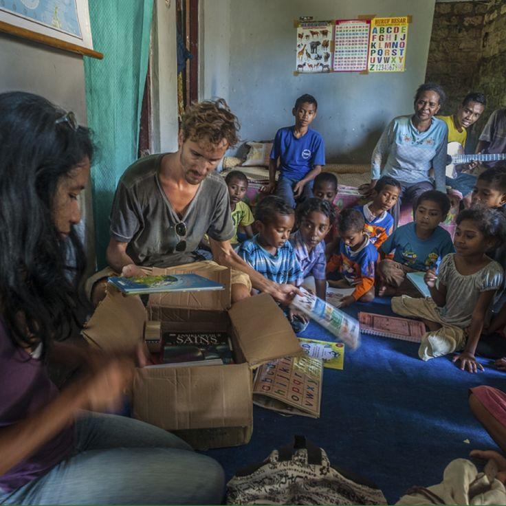Running An NGO In Indonesia: How Green Books Creates Environmental Awareness