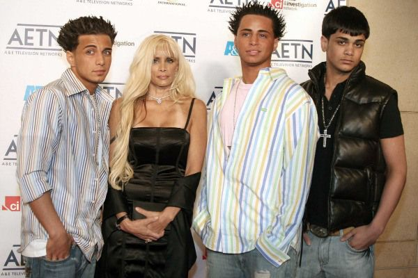 """Victoria Gotti and Her Sons   """"Celebrity Offsprings ..."""