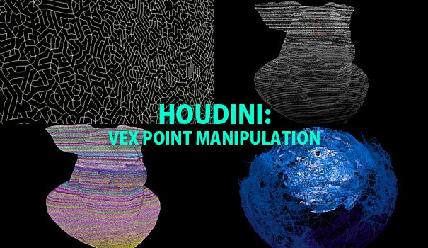 Houdini Vex Point Manipulation Learn how to use VEX code to