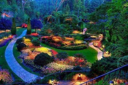 The Butchart Gardens in beautiful Victoria British Columbia--55 acres of Paradise. A place you must see if you are ever in Victoria!