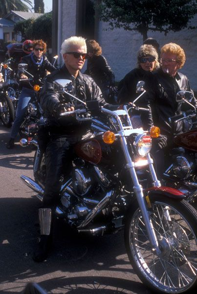 2 of the coolest things-Billy Idol and motorcycles