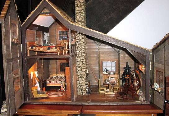 Little house on the prairie miniatures miniatures for Young house love dollhouse