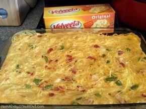 Velveeta Chicken Rotel Spaghetti Recipe #dinner MomAlwaysFindsOut.com