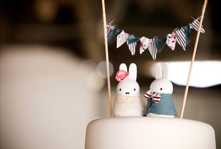 Miffy wedding cake