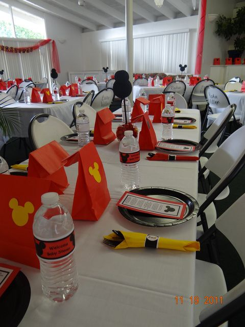 """Photo 26 of 29: Mickey Mouse / Baby Shower/Sip & See """"Cynthia & Steven's Baby Shower"""""""