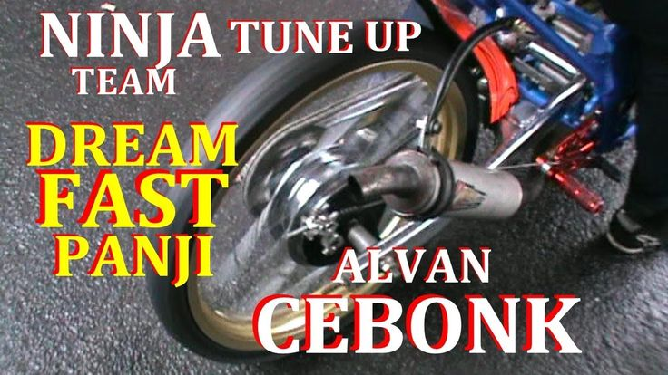 CEBONG GAGAL JUARA Dengan NINJA TU 155cc DREAM FAST PANJI | VIDEO DRAG BIKE