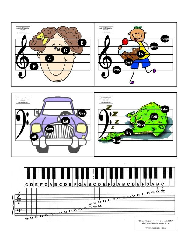 Printed these for JT. Helps a lot with memorizing! They sit on the piano and I encourage him to read them twice a day.