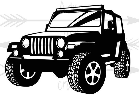 Check Out This Item In My Etsy Shop Https Www Etsy Com Listing 671308690 Jeep Zip File Svgs Png Dxf Eps Jeep Jeep Drawing Jeep Jeep Art