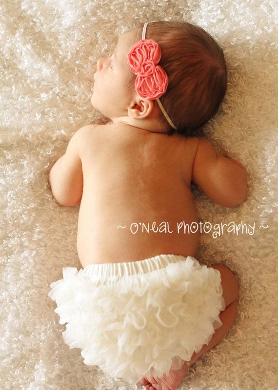 READY to ship- Chiffon Ruffle Diaper Cover, Ruffle Bum Baby Bloomer , Baby Girl Bloomer -Photo Prop- 20 colors to choose from- -My2lilpixies on Etsy, $8.75