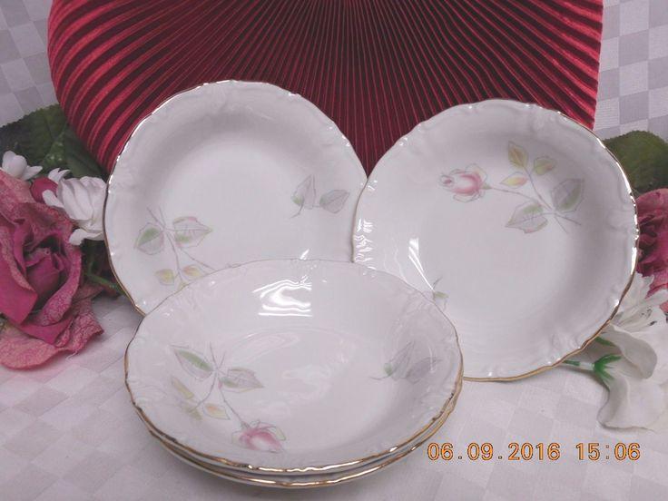 Winterling Bavarian China Dinnerware, Pattern #WIG21 Set 4 Fruit bowl(s)