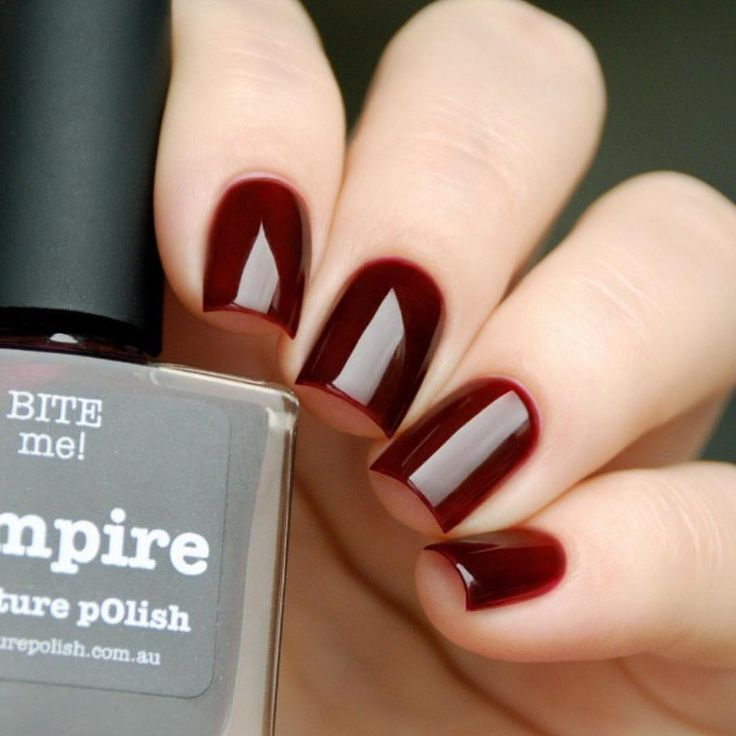 Natali aka @nata3110nata wearing 'Vampire' WOW ❤️❤️thank you :) Shoplink in bioor www.picturepolish.com.au + we ship to selected countries and for international on-line stockists please see that page
