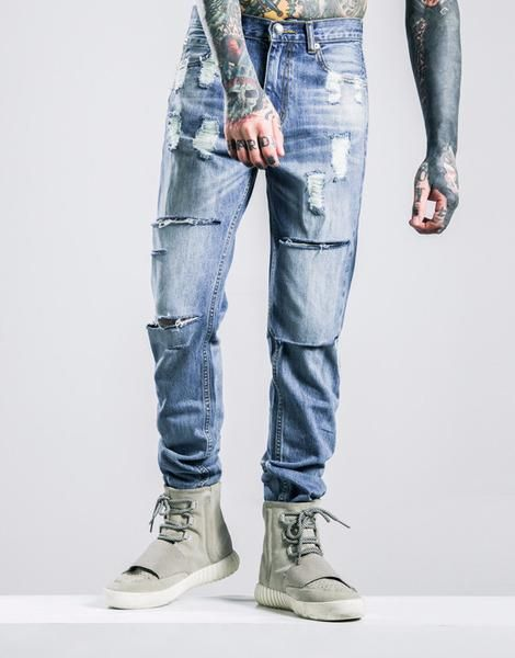 Sovereign® Skinny Ripped Jeans