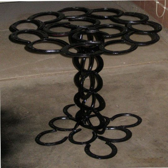 Southwestern style patio table by ALadiesChoice on Etsy, $150.00