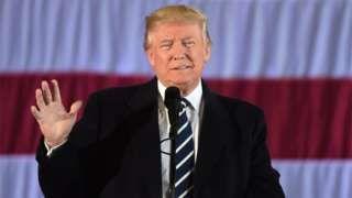 """Image copyright                  AFP                                                     El presidente electo de Estados Unidos, Donald Trump, dijo que la conclusión a la que supuestamente llegó la CIA (Agencia Central de Inteligencia) de que Rusia había interferido en las elecciones presidenciales de Estados Unidos para ayudarlo a ganar es """"ridícula&qu"""