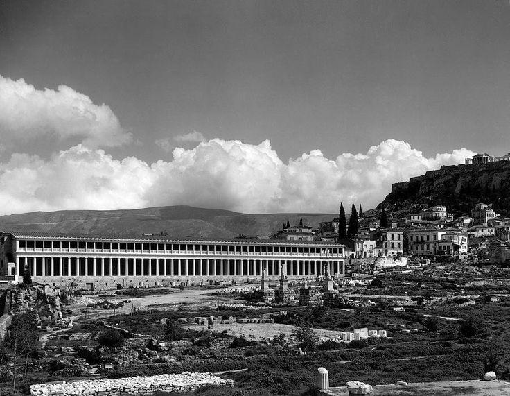 Αθήνα  1958 στοα Αττάλου