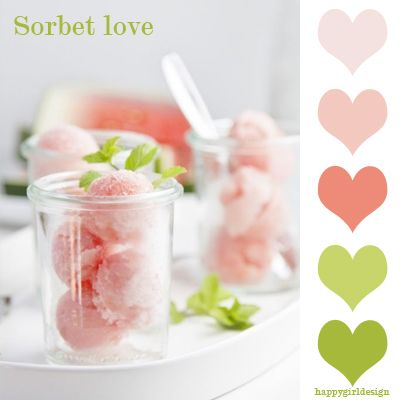 sorbet watermelon paper