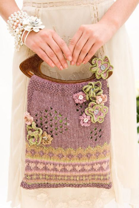 89 best Knit bags images on Pinterest | Backpacks, Knitting and ...