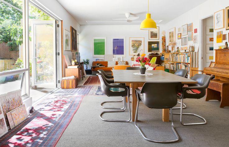 Eveline Kotai, Giles Hohnen and Family — The Design Files | Australia's most popular design blog.