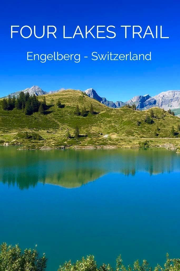Four Lakes Trail in Engelberg Switzerland