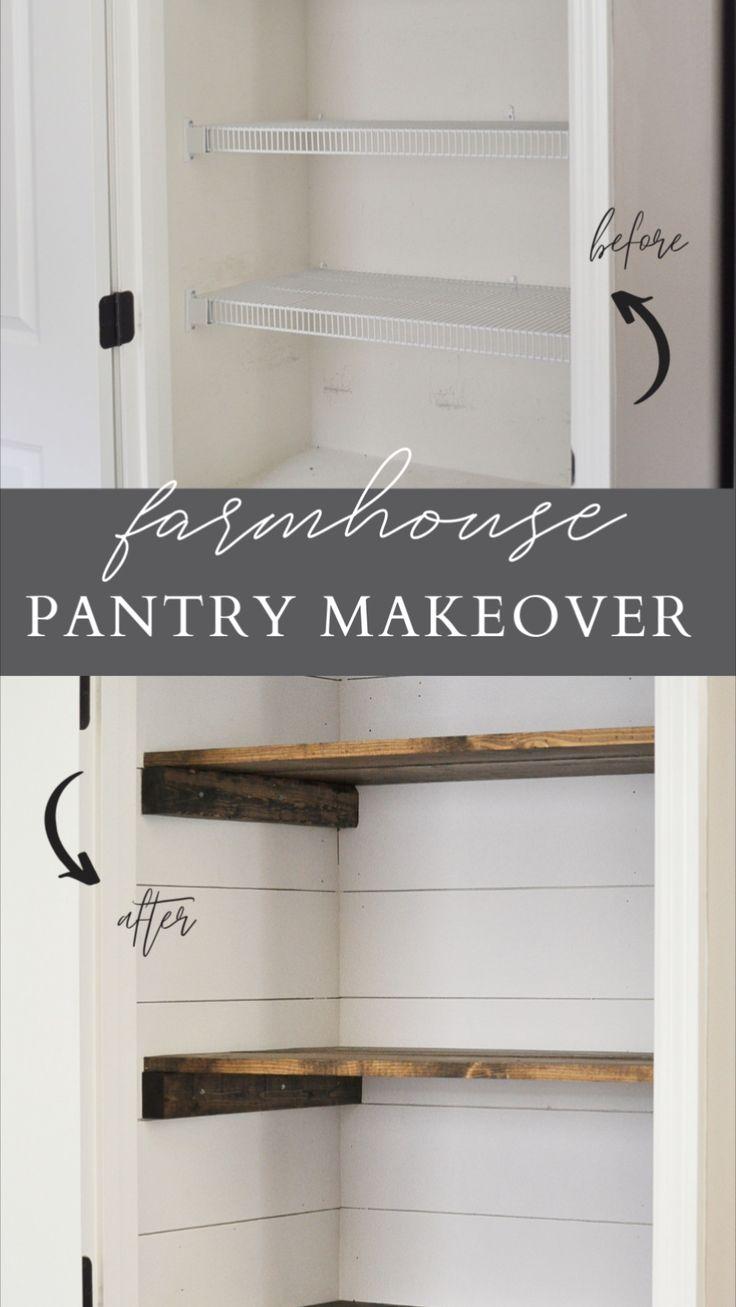 Pantry Organization, Organizing, Home Renovation, Home Remodeling, Pantry Makeover, Gambrel, Pantry Design, Home Upgrades, Pantries