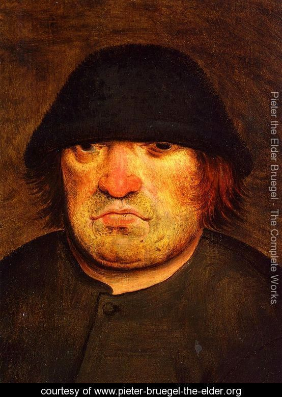 Peasant's Head - Pieter the Elder Bruegel - www.pieter-bruegel-the-elder.org