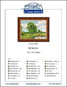 летний пейзаж. вышивка крестом - Самое интересное в блогах