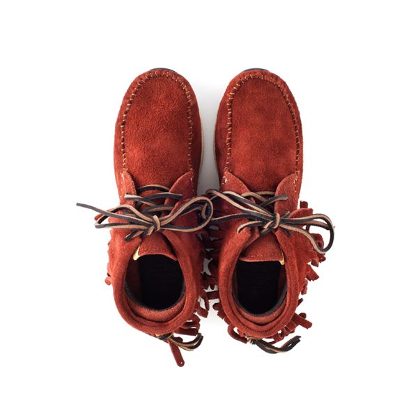 Visvim FBT Shaman Red Dirt