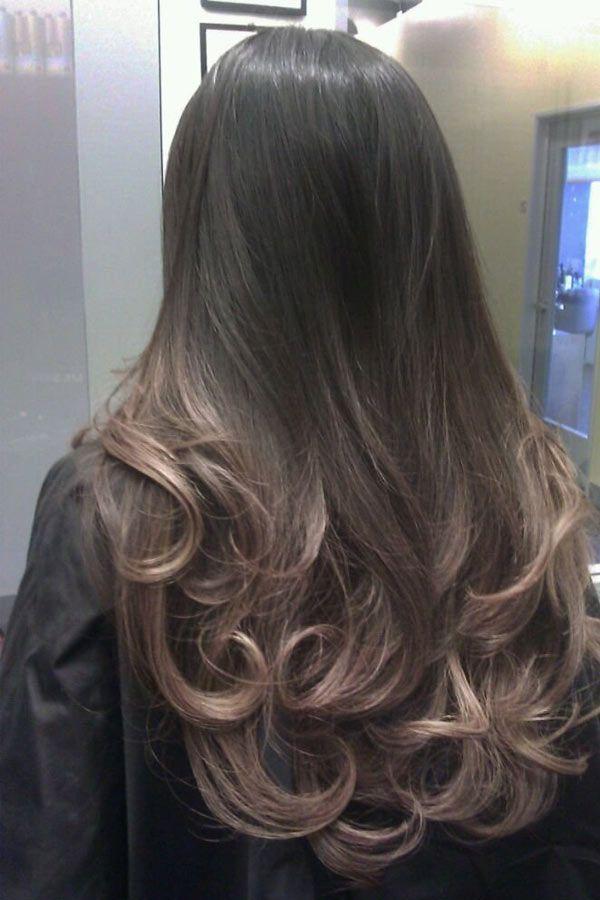 Окрашивание волос техникой балаяж - фото работ и советы по уходу