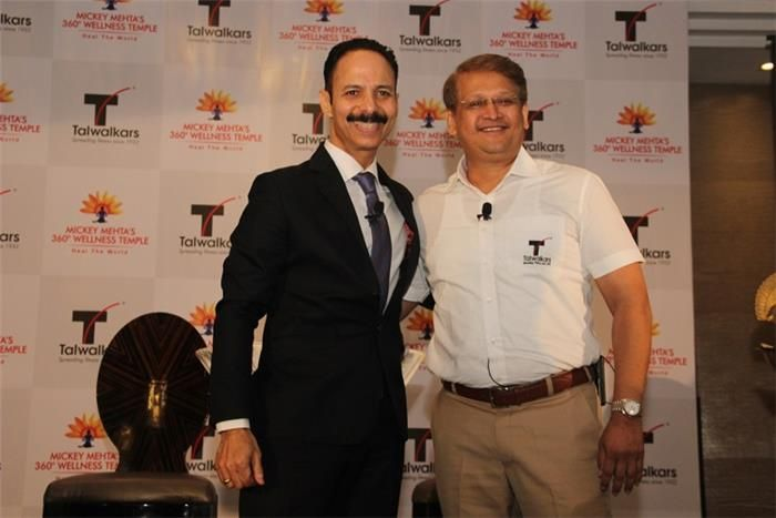 #MickeyMehta ups #Fitness Quotient through Strategic Alliance with #Talwalkars