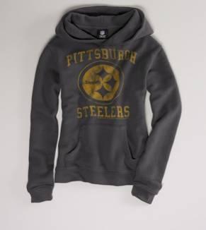 Steelers + hoodie... totally my thing.