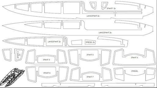 rc boat plans ile ilgili görsel sonucu